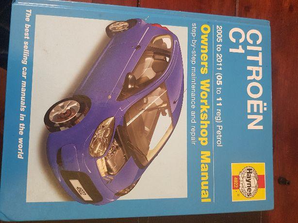 Книга по ремонту Citroen C1 (Peugeut 107/Toyota Aygo)