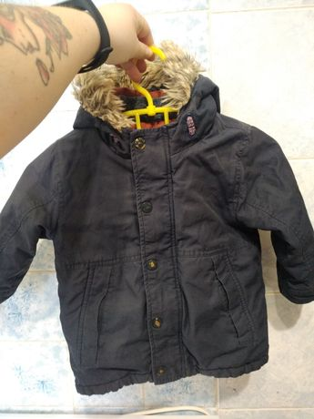 Осенняя курточка. Парка.  Детская