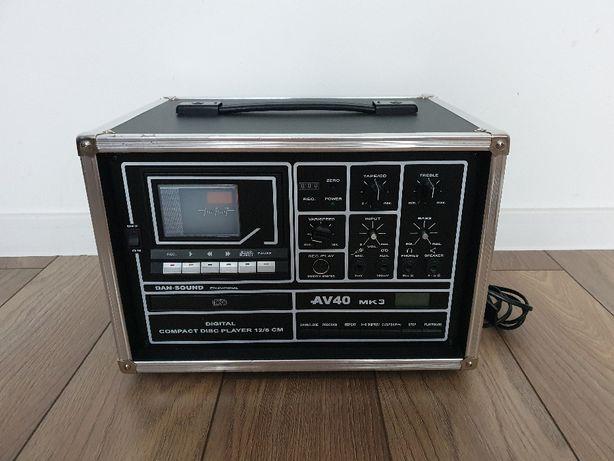 Odtwarzacz KASETOWY/CD AV40 MK3 DAN-SOUND - Okazja !