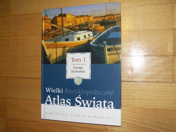 Wielki Encyklopedyczny Atlas Świata, tom 1, Europa Zachodnia