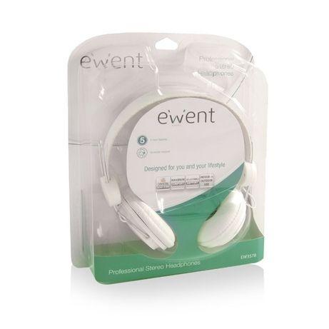 Auscultadores Fones Ewent EW3578 headphone Novos em caixa