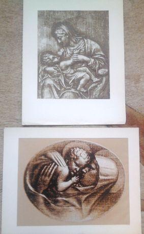 OKAZJA Obraz grafika barwna W. Błażejewski unikat kolekcja antyk