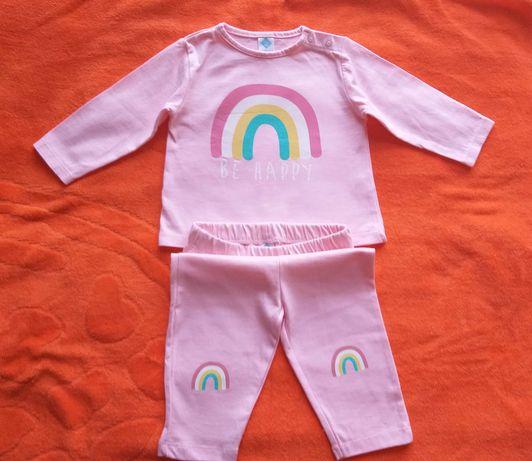 Піжама або літній костюмчик бренду Tex на 6-9місяців.