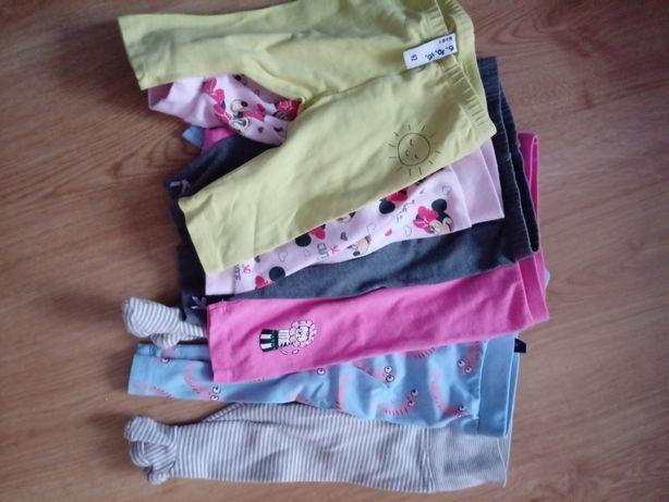 Ubranka 62 dla dziewczynki (dużo)