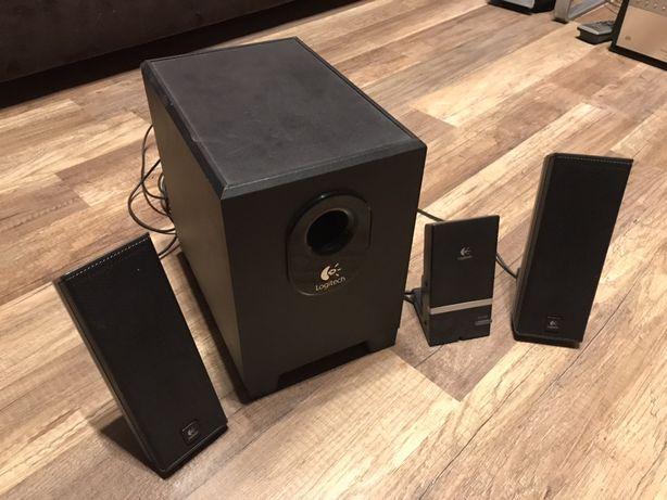 Głośniki Logitech X-240 2.1 komputerowe basowy 15W subwoofer kolumny