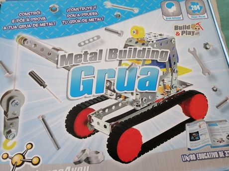 """Jogo de construção """"Grua metálica"""" science4you"""
