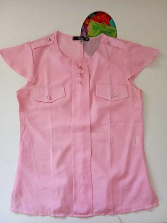 женская блузка 46р S-M Модный остров