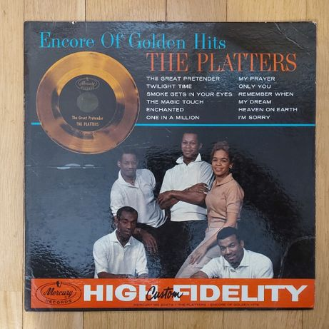 The Platters, Encore Of Golden Hits, USA, MER, 1960, db