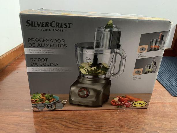 Processador de alimentos Silvercrest (nunca usado)