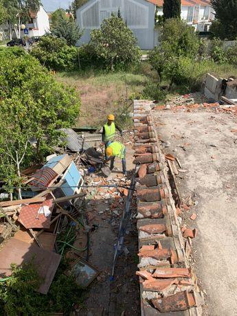 Carioca entulhos,retirada de mobília,remodelações,limpeza terreno