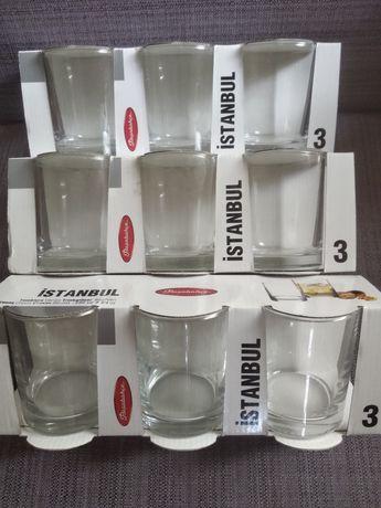 Стаканы стеклянные Istambul в наборе 9 шт