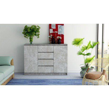 BELLA DS24 120cm – komoda beton DOWÓZ GRATIS - Raty