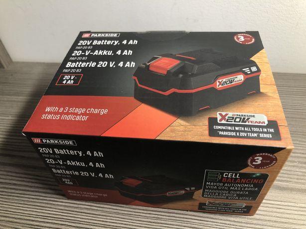 Nowy akumulator 4Ah Parkside X20V PAP 20 B3 Gwarancja