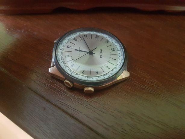 Zegarek Rakieta tarcza 24h Miasta