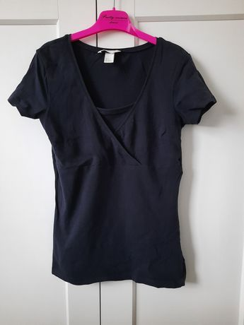 Bluzki/ koszulki H&M Mama rozm S dla kobiet karmiących 2 szt