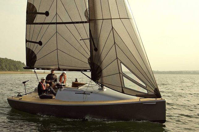 Jacht Żaglowy 24 stopy - szybki i piękny. Argentum 24