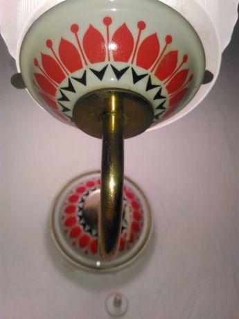 Kinkiet ceramiczny PRL