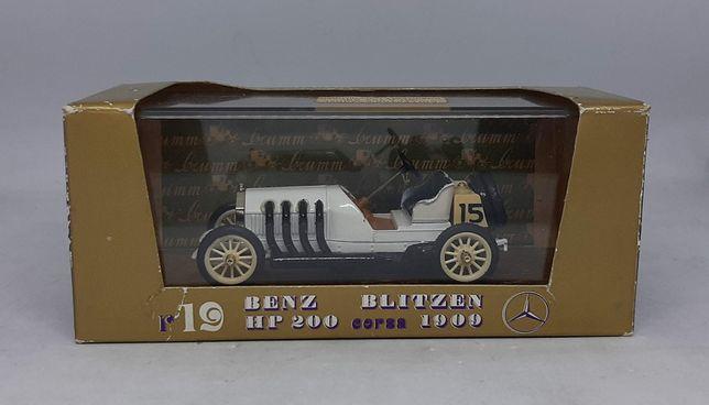 BENZ BLITZEN HP200 CORSA (1909) - Brumm r19 Made in Italy 1:43