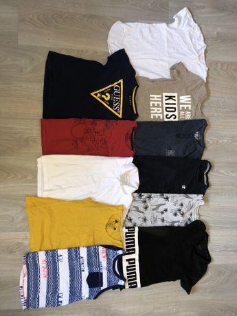 Koszulki chlopiece markowe 134/140