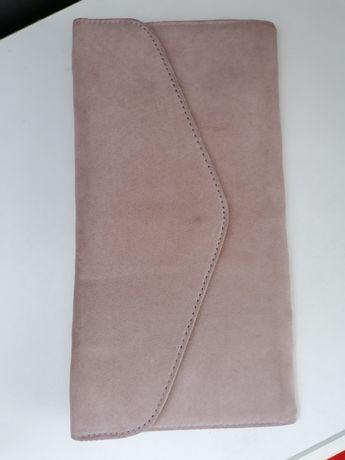 Kopertówka aksamit torebka