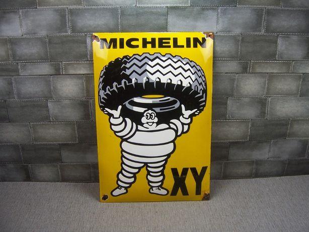 3 Michelin reklama szyld blacha emaliowana