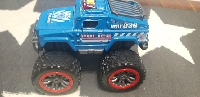 Dickie Toys jeep policja MONSTER TRUCK SWAT TEAM