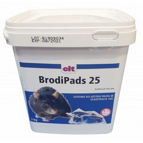 Brodi Pads Trutka na szczury 3kg