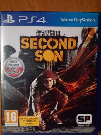 Gra Second Son PS4