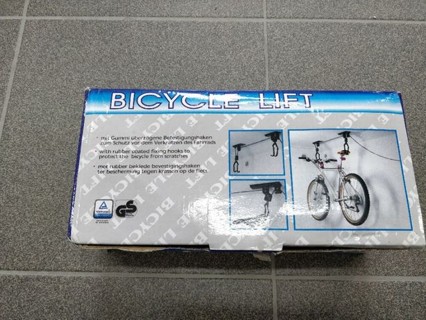 Wieszak rowerowy sufitowy