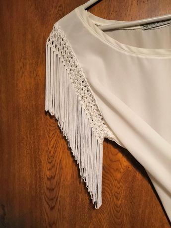 Biała bluzka r. S