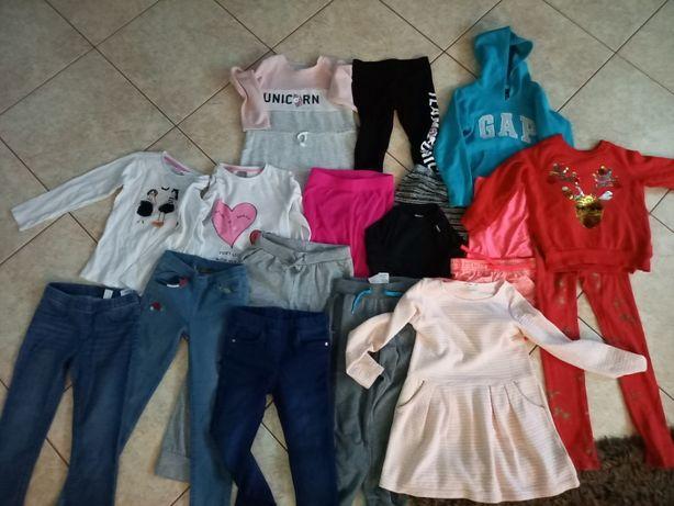 ubrania dla dziewczynki 128 cm