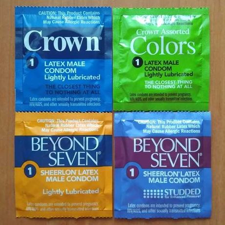 Микс презервативы Okamoto Crown Beyond Seven 24шт
