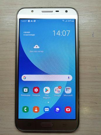 Смартфон Samsung j701neo (2017) gold, телефон самсунг