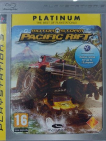 Motor Storm Pacific Rift PlayStation 3 PS3 Używana Kraków