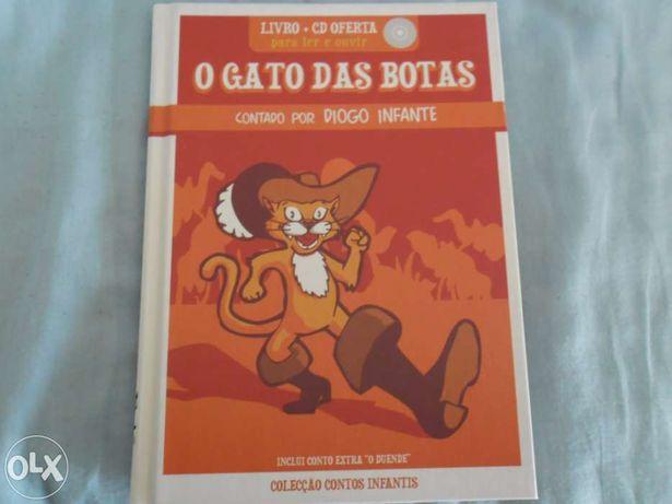 """Livro """"O Gato das Botas"""""""