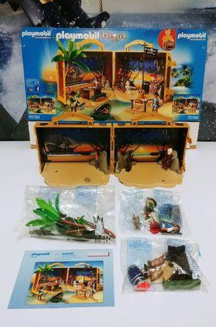 Playmobil 70150 Pirates Przenośna wyspa piracka.