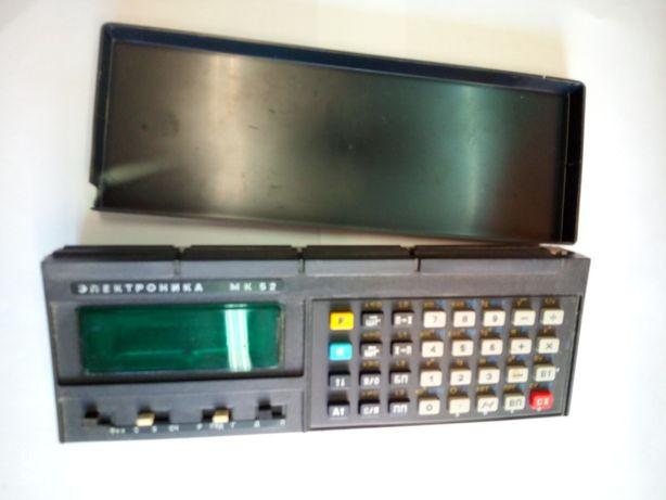 Калькулятор ссср МК 52