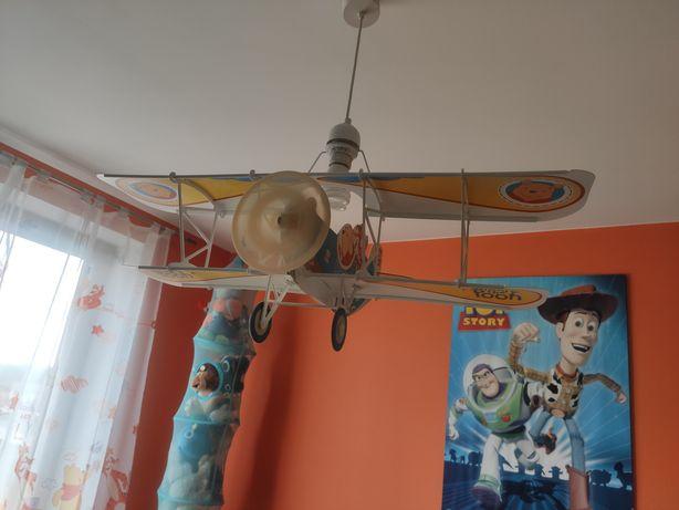 Lampa sufitowa samolot Kubuś Puchatek