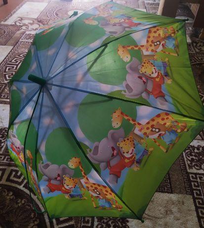 Детский зонтик со свистком