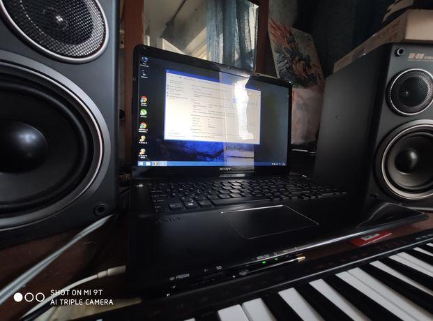 Ноутбук sony sve 171 c11v