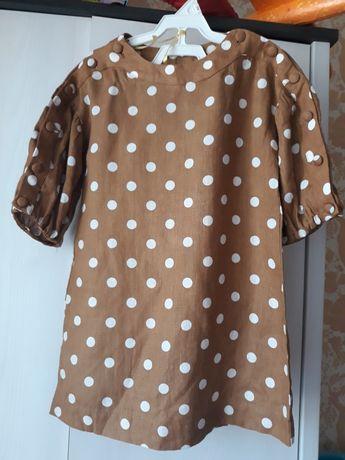 Zara платье 116р.