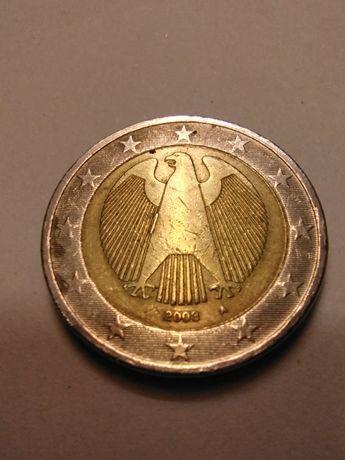 Moeda 2€ Alemanha com defeitos