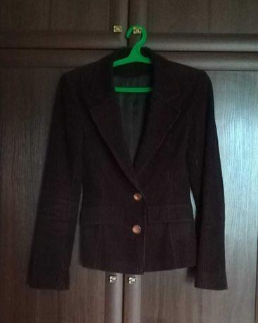 Женский вельветовый пиджак