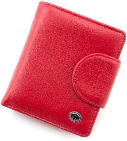 Женские Маленький кошелек красного цвета ST Leather из турция