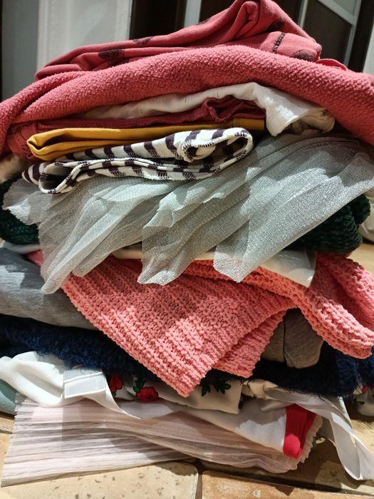 Paka ciuszków dla dziewczynki 104,110,116 Lubin - image 1