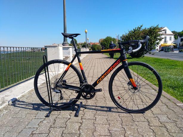 Bicicleta Estrada NOVA Corratec CCT Team Pro Disc 2021 57