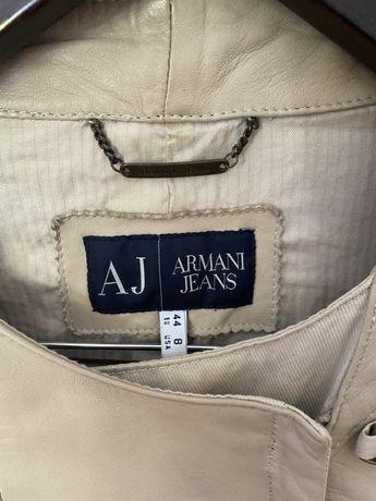 Casaco pele armani jeans original