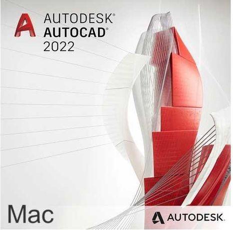 AutoCad AutoDesk 2021/2022 Mac Windows - Licencja Roczna Klucz