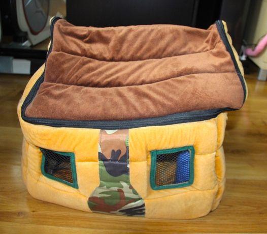Legowisko dla psa kota domek namiot kojec poduszka dom buda maltanczyk