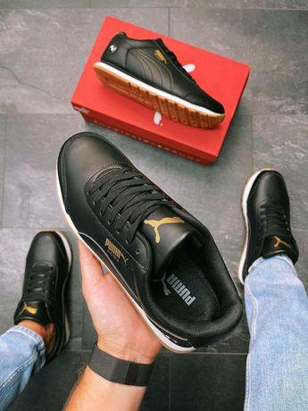 Кроссовки Puma Roma BMW Black/Gold